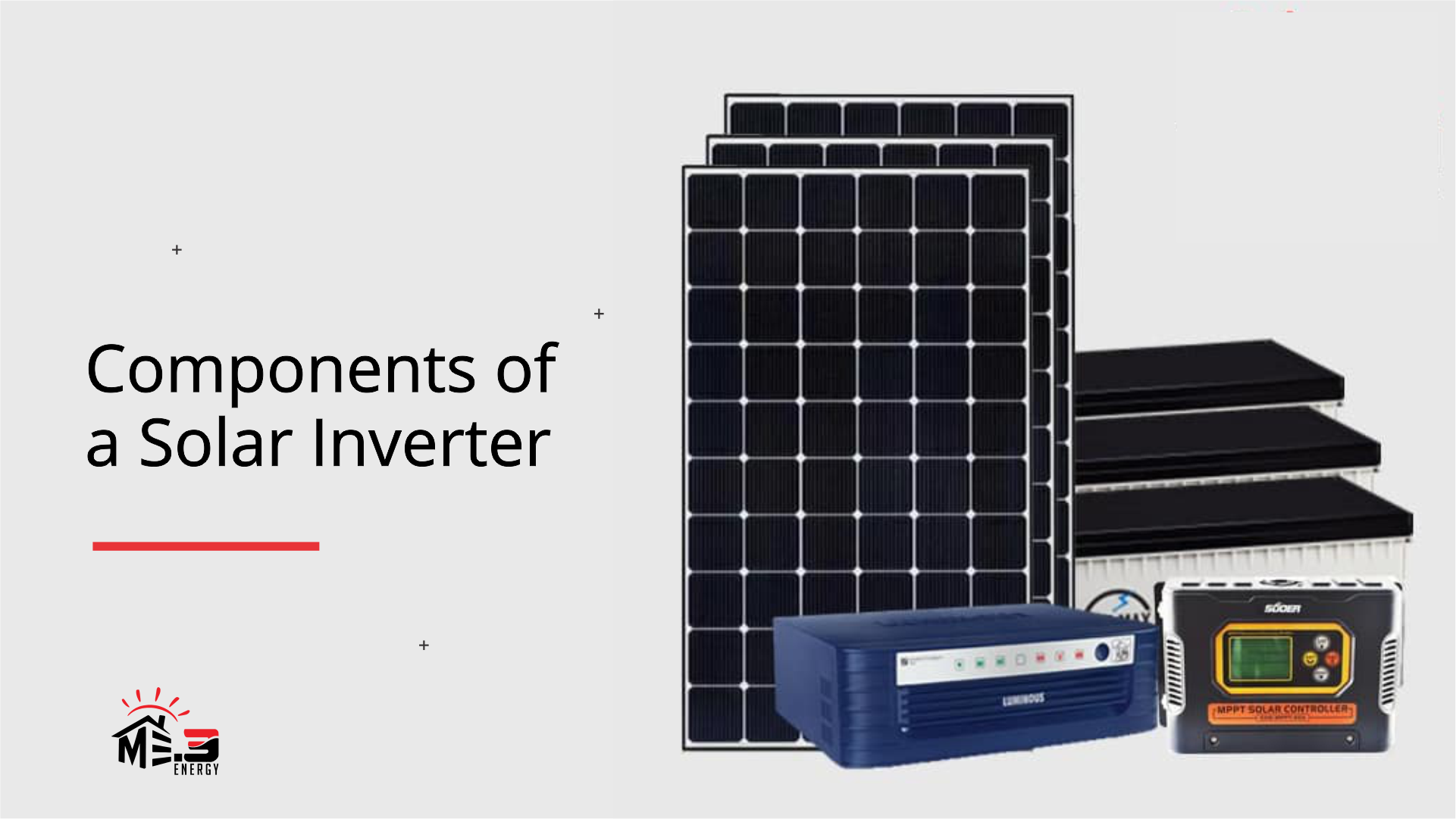 Complete Components of a Solar Inverter