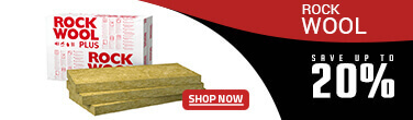 20% discount on rockwool